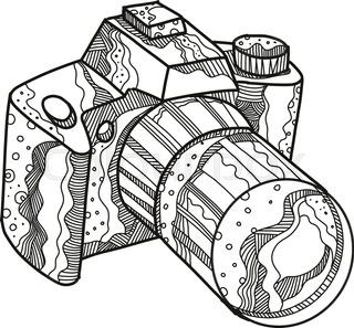 320x297 Dslr Digital Camera Icon Design, Vector Stock Vector Colourbox