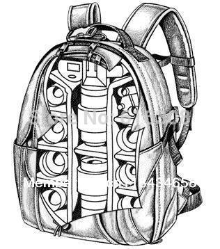 316x358 New Lowepro Mini Trekker Aw Photo Dslr Camera Bag Digital Slr