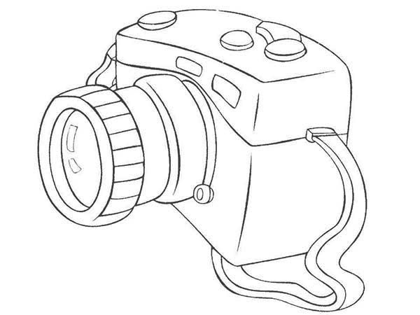 600x450 Photography With Dslr Camera Coloring Page Coloring Sky