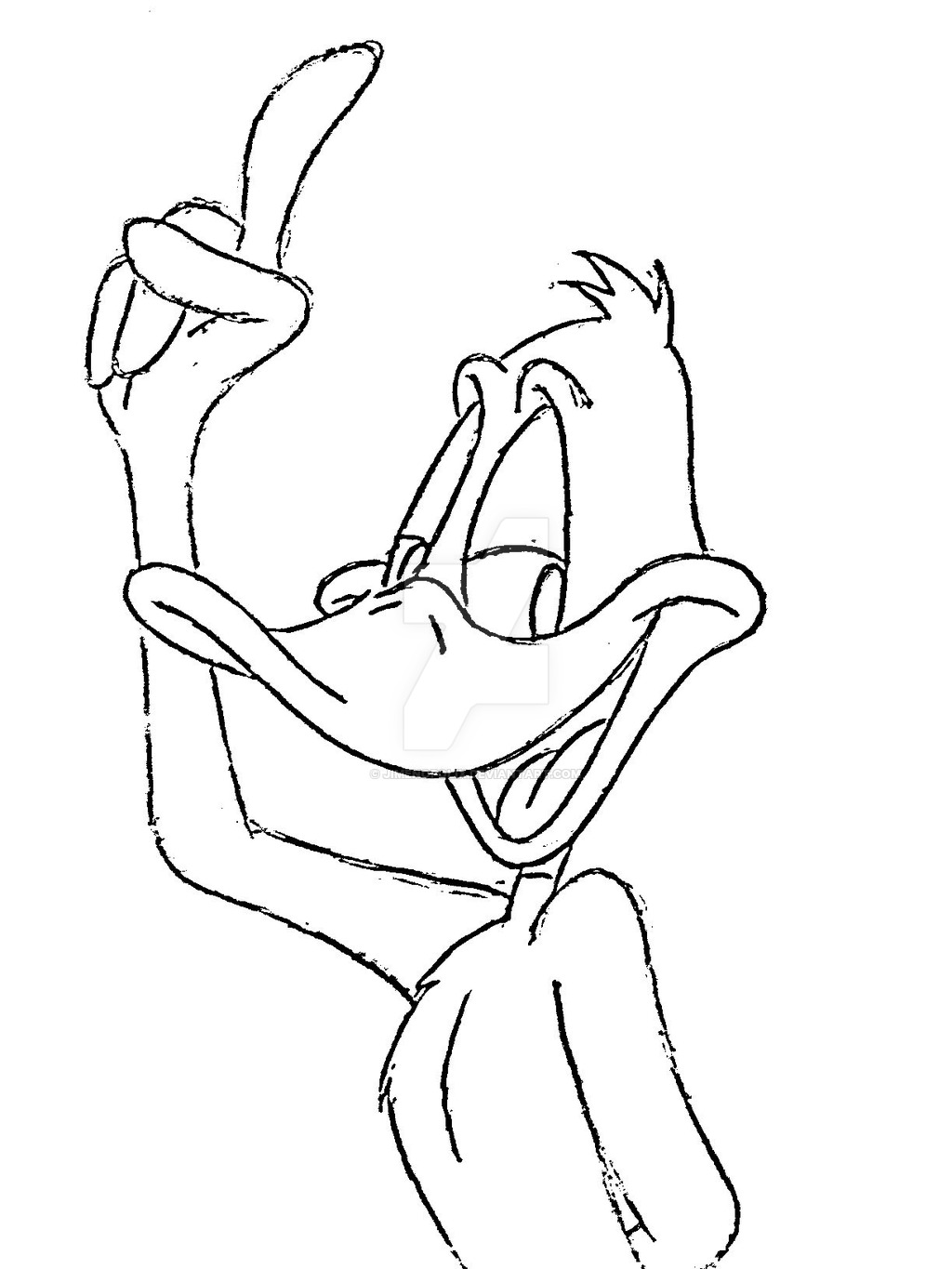 1024x1365 Daffy Duck By Jimenopolix