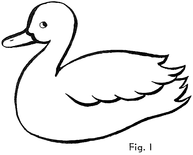 618x494 Simple Drawing Of A Duck How To Draw Chicks Drawing Cartoon Ba