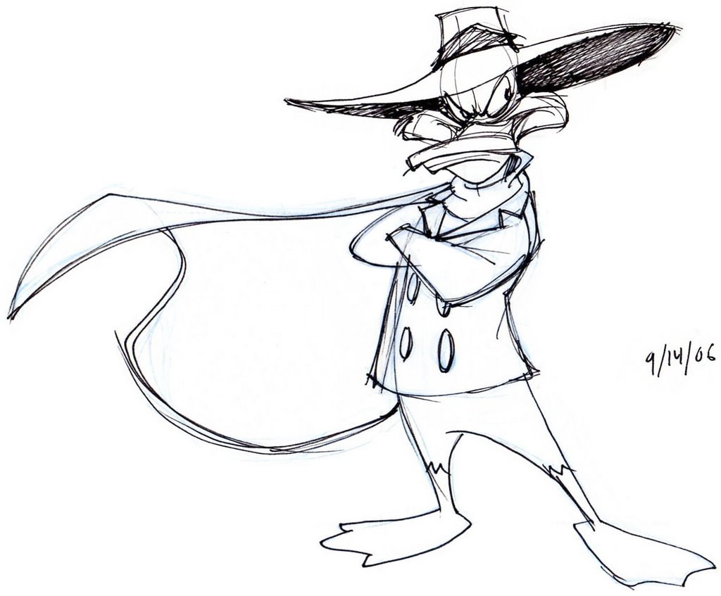 1024x847 Darkwing Duck Art Cartoon, Cartoon Fun And Drawing