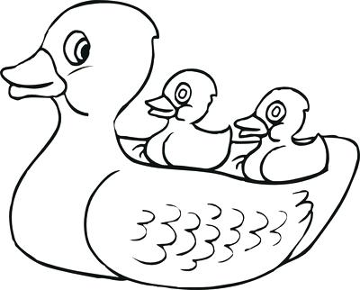 400x322 Rubber Ducky Coloring Page Rubber Duck Outline Drawing Blank