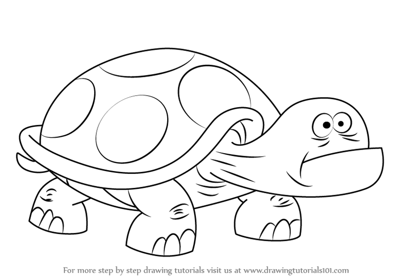 800x565 Learn How To Draw Dumb Turtle From Uncle Grandpa (Uncle Grandpa