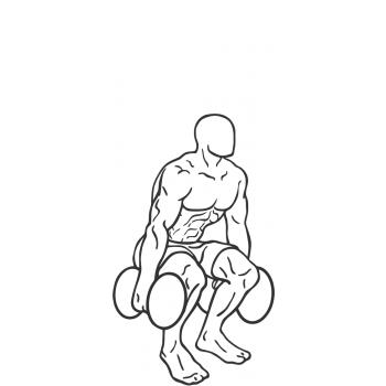 350x350 Dumbbell Squats