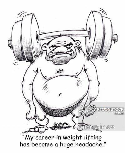400x489 Dumbbells Cartoons And Comics