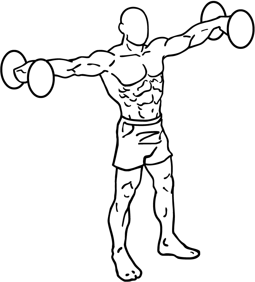 815x900 Beginner Dumbbell Workout