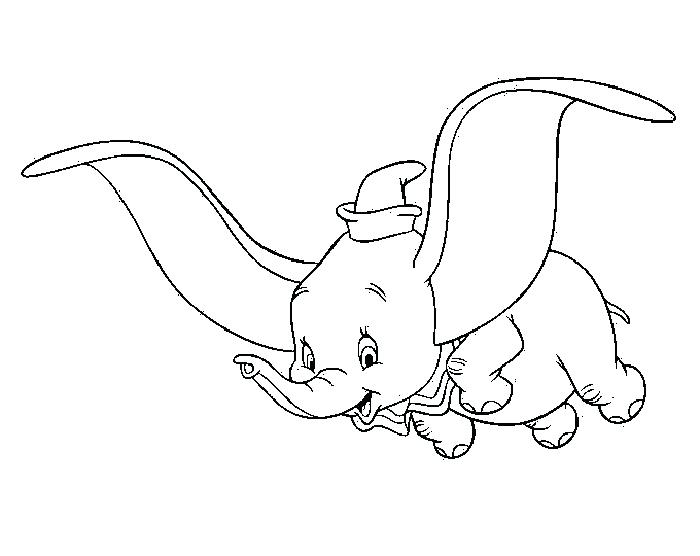 700x556 Dumbo Pictures To Color Dumbo Fly Happy Dumbo Coloring Pages