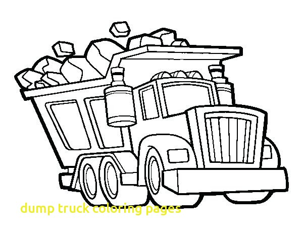 600x470 Dump Truck Coloring Pages With Dump Truck Coloring Pages Tonka
