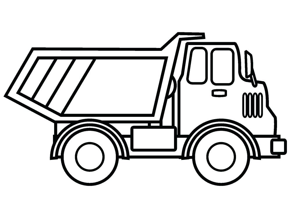 Dump Truck Drawing at GetDrawings.com   Free for personal use Dump ...