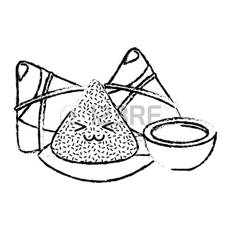 Dumpling Drawing