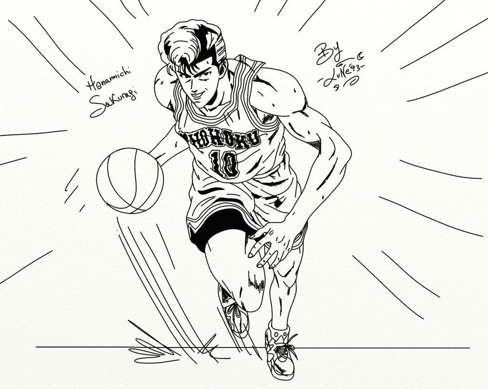 1001x798 Hanamichi Sakuragi, Slam Dunk By Veronicalune93
