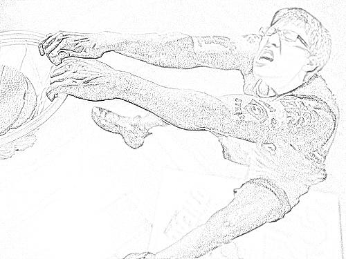 500x375 Slam Dunk Sketch By Batistabomber