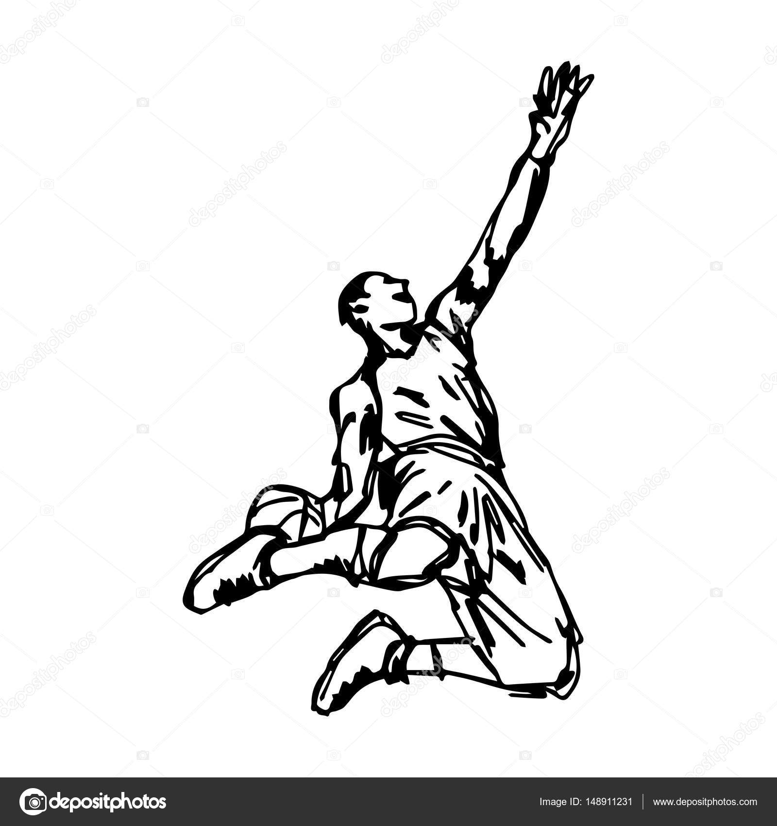 1600x1700 Basketball Player Making Slam Dunk