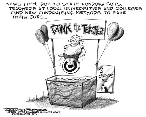 500x400 Editorial Cartoon Dunk The Teacher