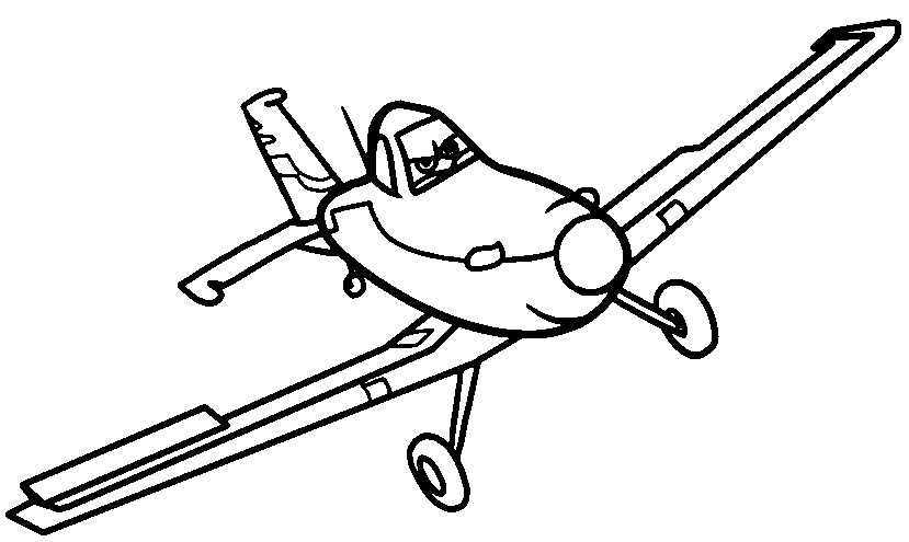 Dusty Crophopper Drawing At Getdrawings Com Free For Personal Use Happy Coloring Pages Of Aeroplane Disney Planes
