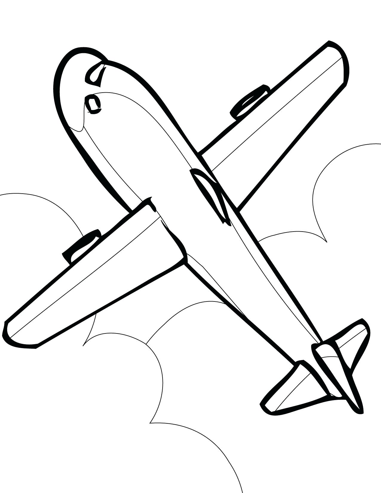 1275x1650 Airplane Disney Planes Coloring Pages Printable Jet Plane