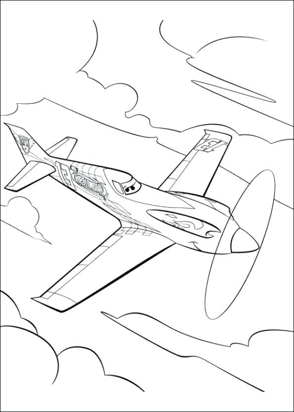Disney Planes Turbo Dusty Coloring Coloring Pages - Worksheet ...