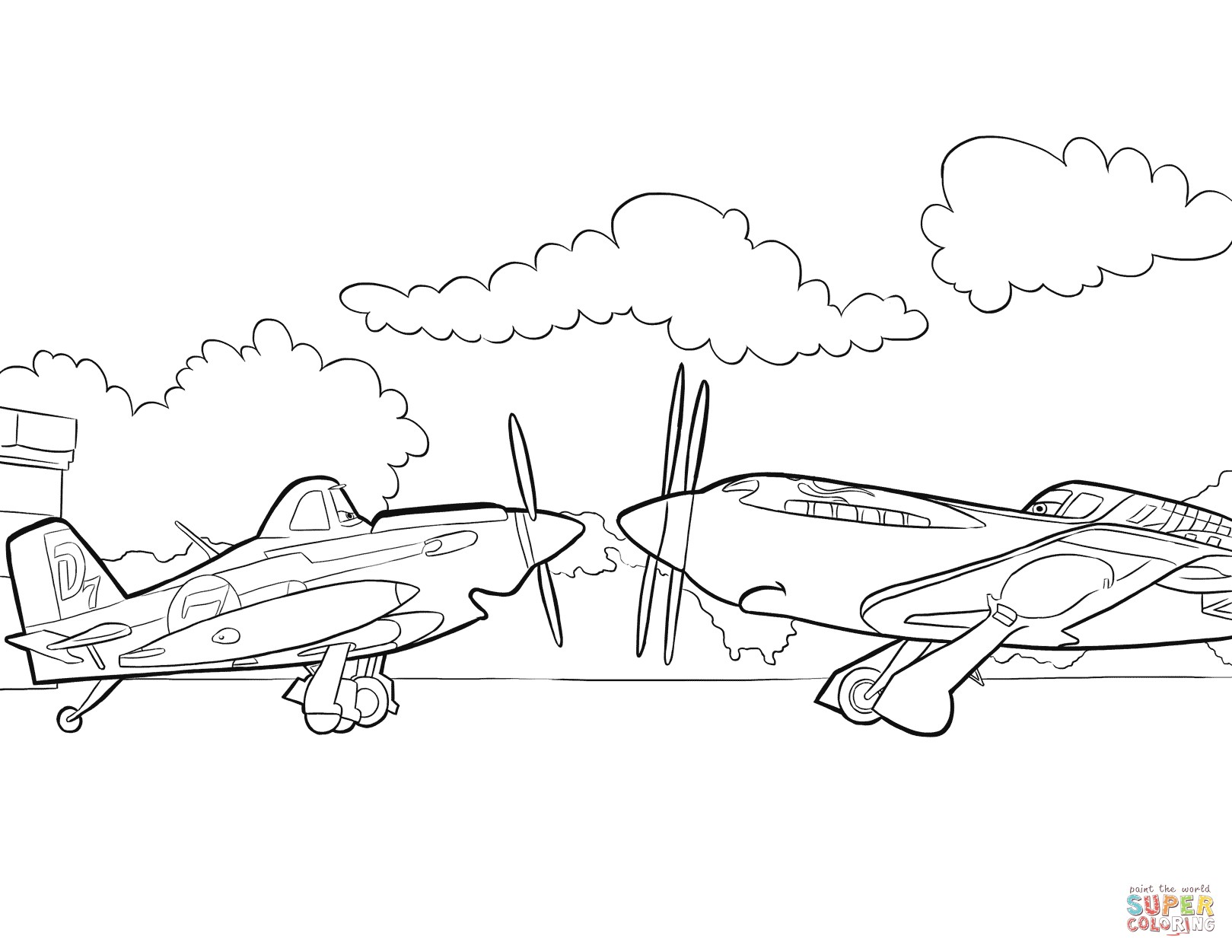 1619x1251 Coloring Pages For Planes Best Of Disney