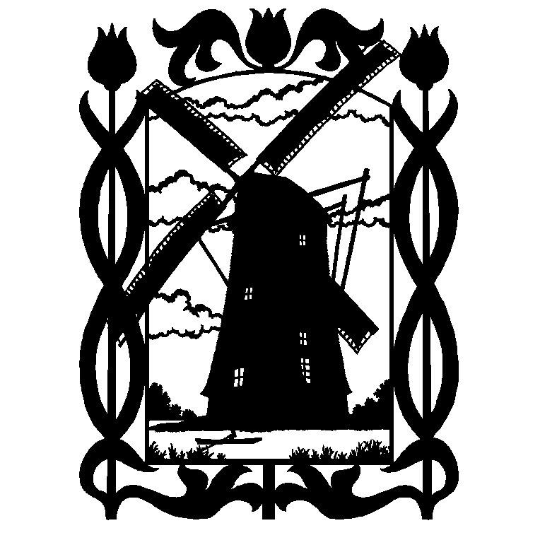 764x764 Dutch Windmill