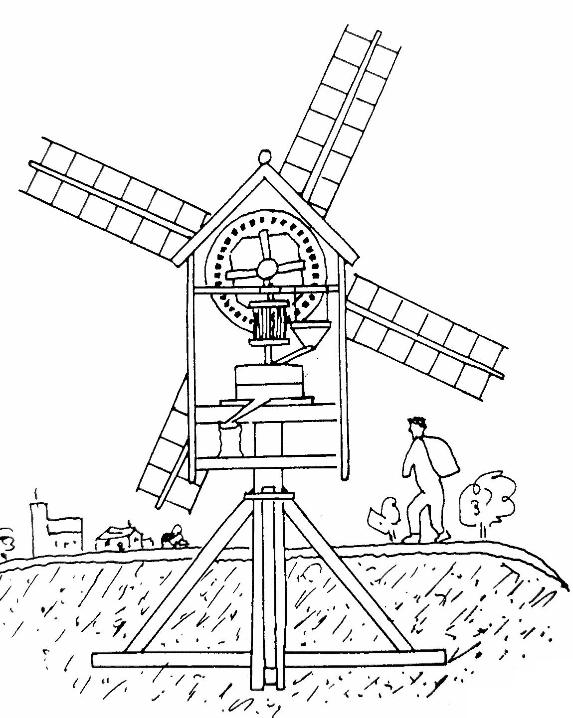 1149x1441 Iama Miller On A Dutch Windmill, Ama! Iama