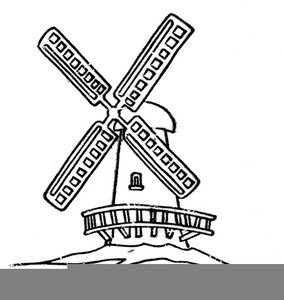 284x300 Dutch Windmill Clipart Free Images