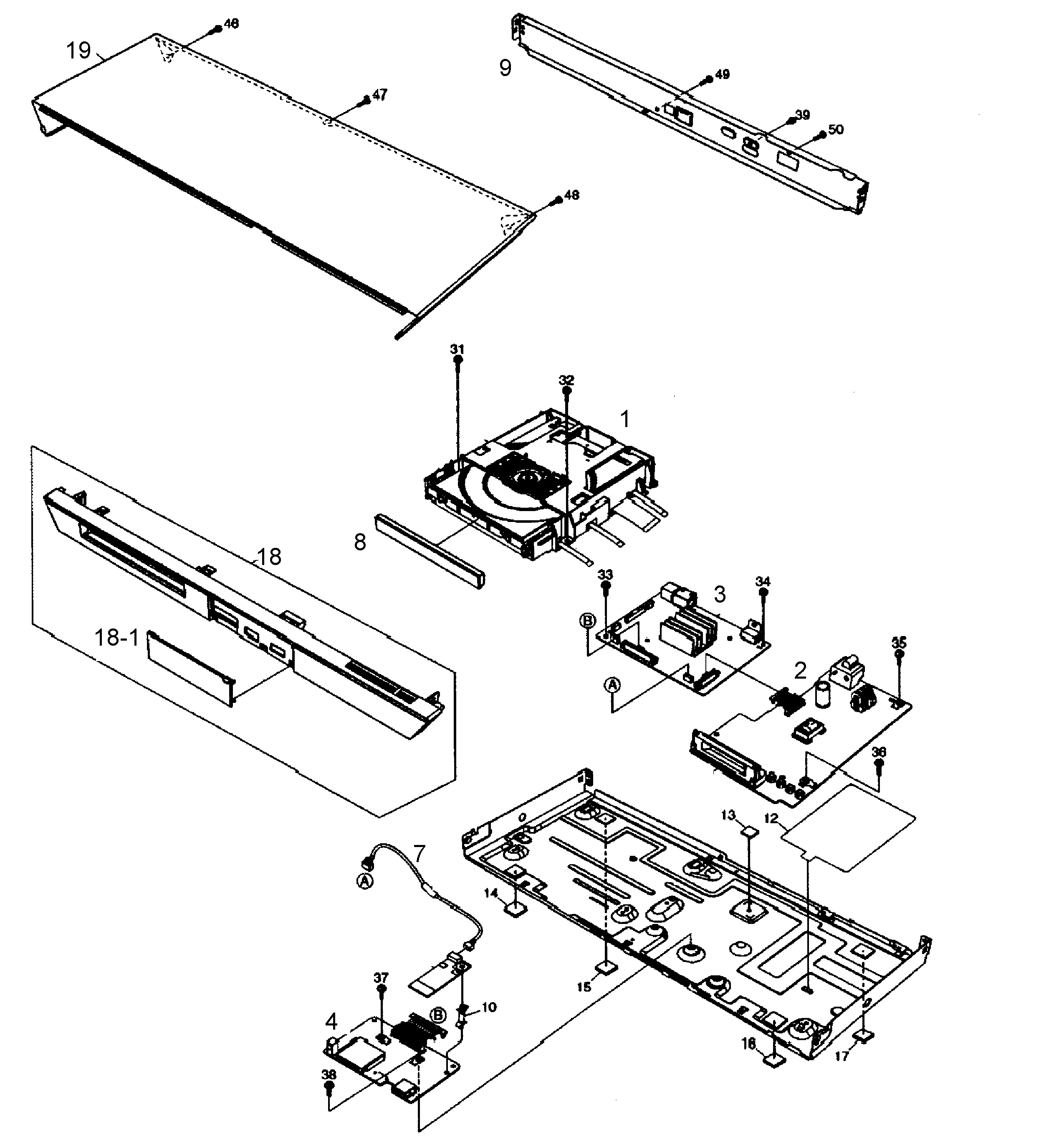 dvd player drawing at getdrawings free for personal use dvd DVD VCR Hookup Diagram 2549x2740 panasonic blu ray dvd player parts model dmpbdt230p sears