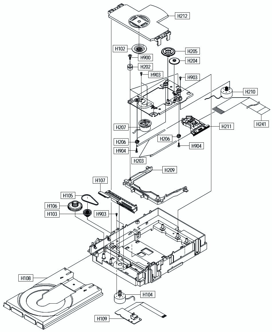 Dvd Player Drawing At Free For Personal Use Magnavox Vcr Wiring Diagram 950x1157 Samsung P244 Exploded View Smps Circuit Electro Help