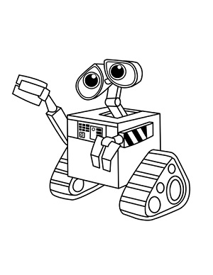 300x388 How To Draw Wall E