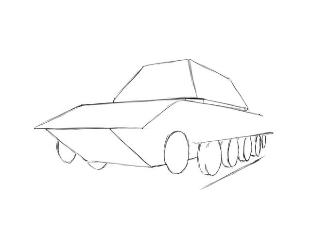 640x480 How To Draw An E 100!