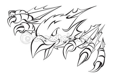 379x259 Eagle Claw Clipart