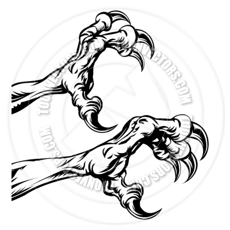 460x460 Eagle Claws By Geoimages Toon Vectors Eps