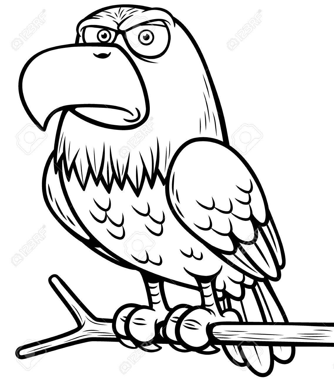1137x1300 Illustration Of Cartoon Eagle