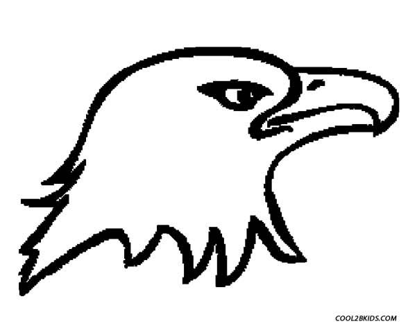 Eagle Drawing For Kids