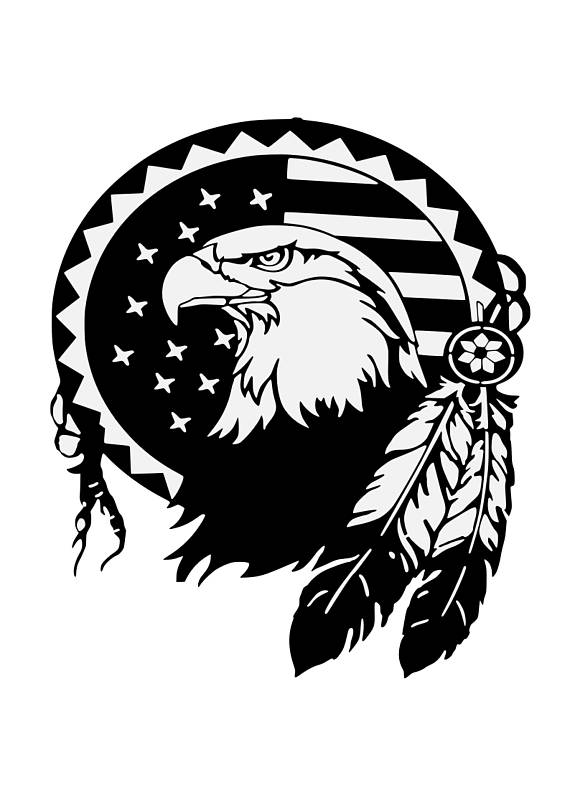 570x806 Eagle Svg,feathers,patriotic Svg,american Eagle Svg, 4th Of July