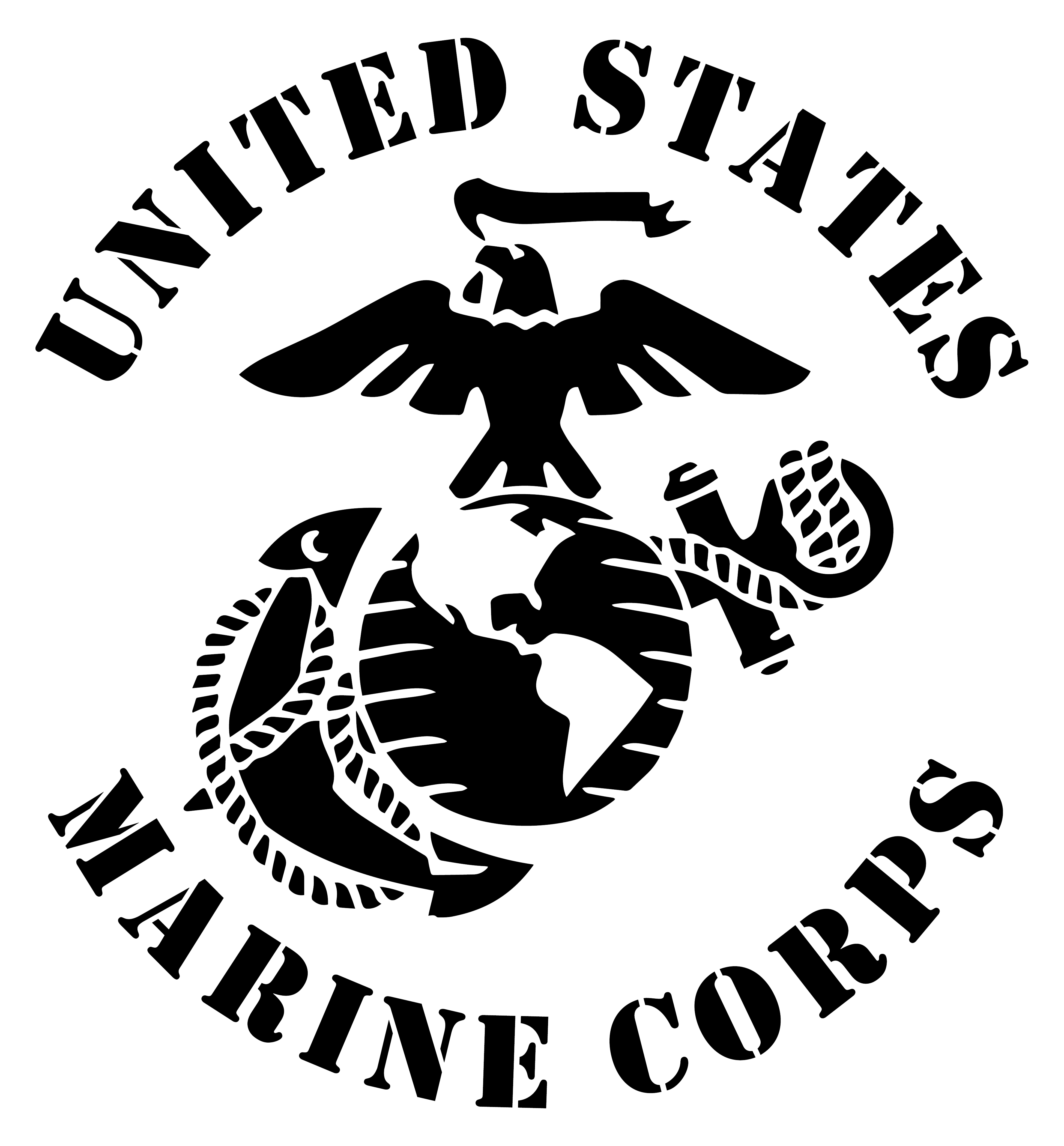 3900x4200 United States Marine Corps Eagle Globe Anchor Usmc Ega Matte