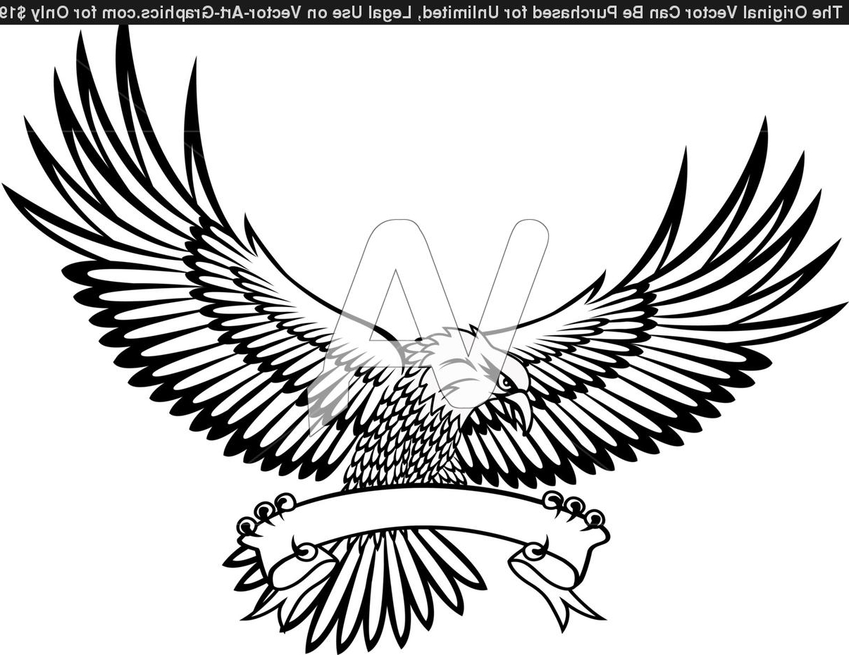 Eagle In Flight Drawing at GetDrawings.com | Free for personal use ...