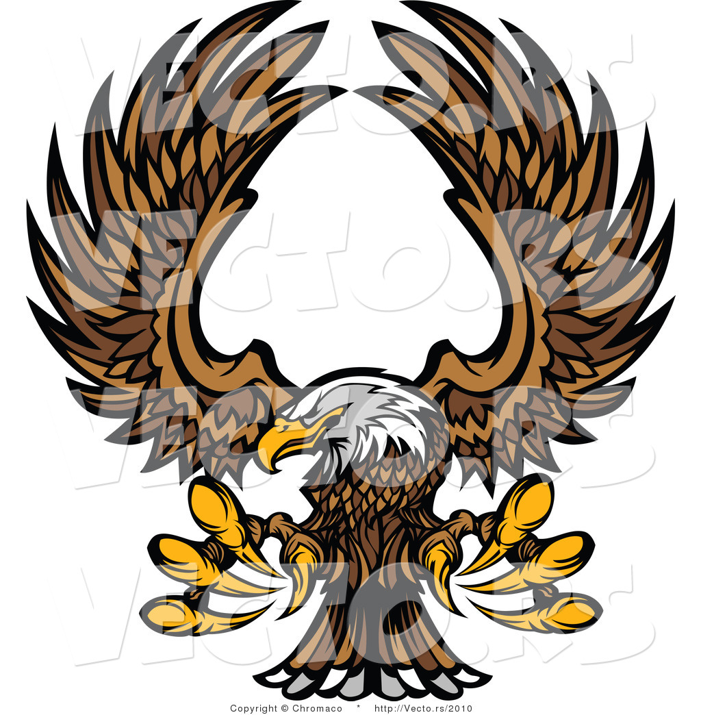 1024x1044 Vector Of A Bald Eagle Reaching Out With Talons While In Flight By