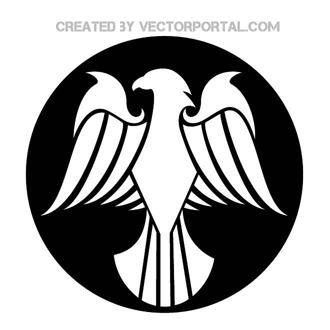 660x660 Eagle Silhouette Mascot