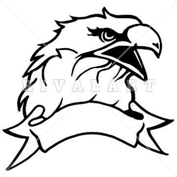 361x361 Head Mascot Clipart Black And White
