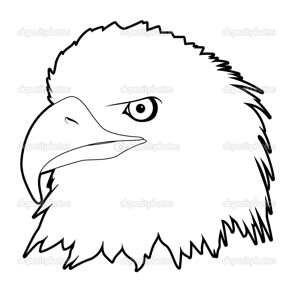 Eagle Outline Drawing at GetDrawings.com | Free for personal use ...