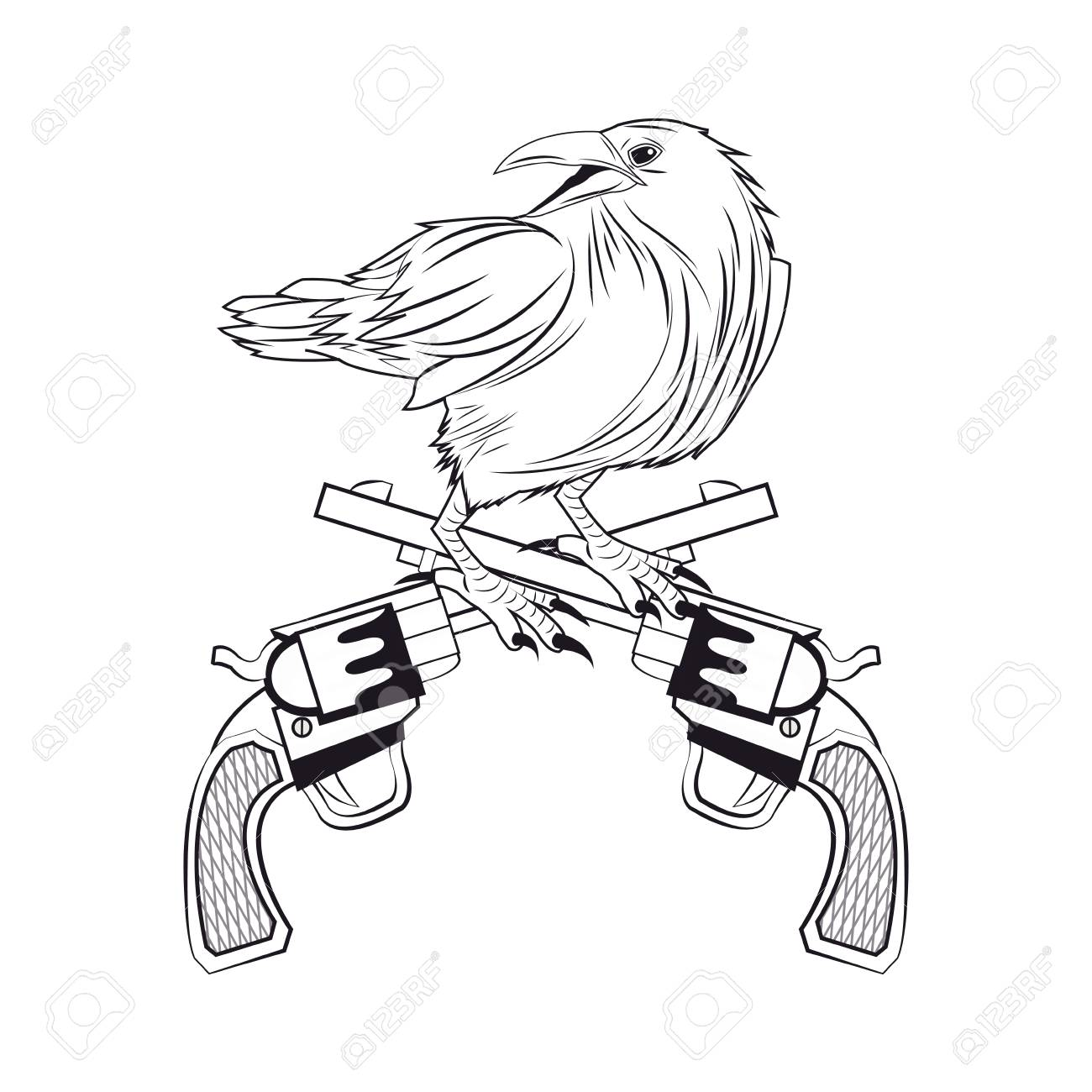 Eagle Tattoo Drawing At Getdrawingscom Free For Personal