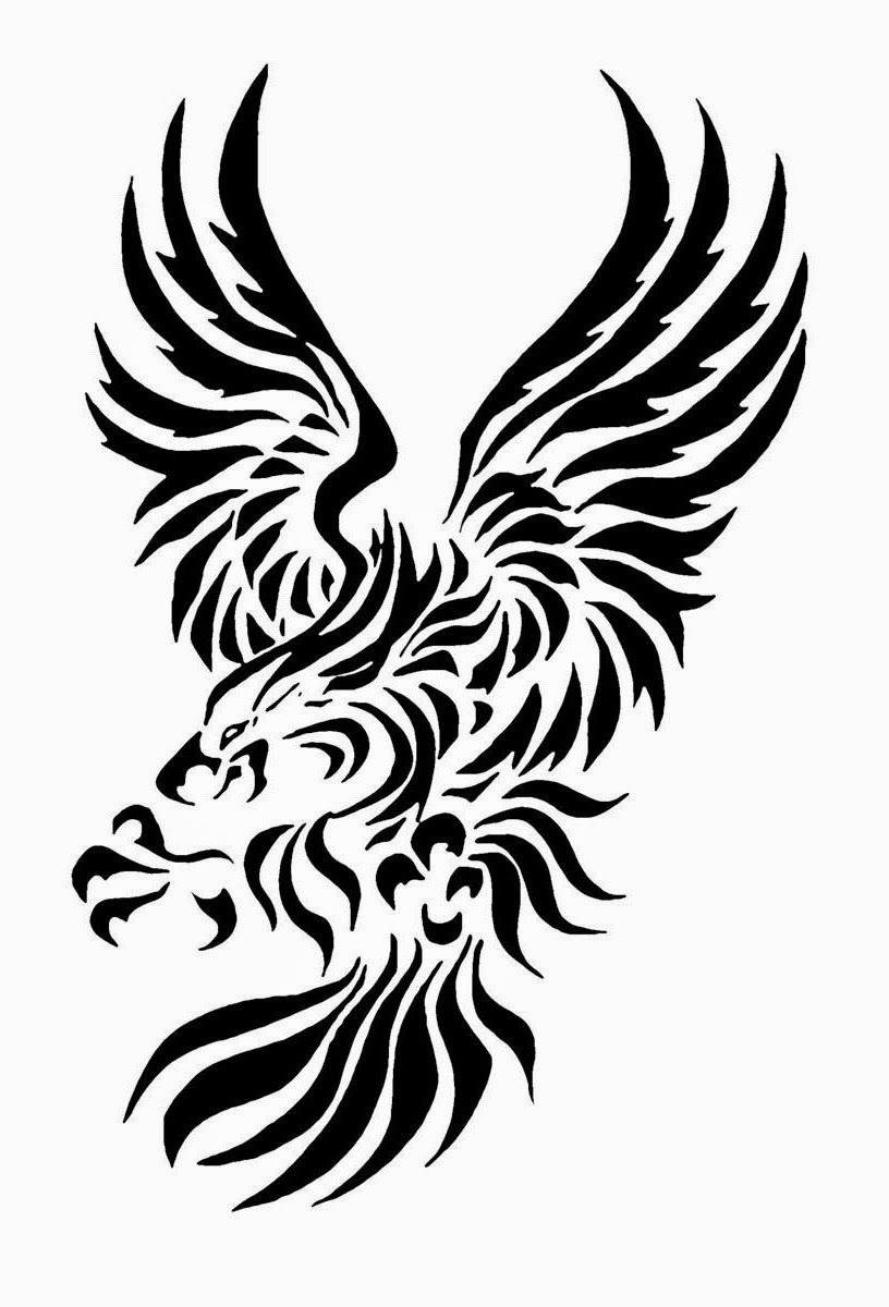 Eagle Stencil Printable