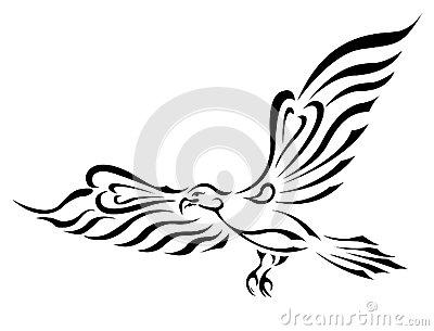 400x305 Eagle Curvy Wing Free Clipart Freedom Symbol Tattoo. Flying