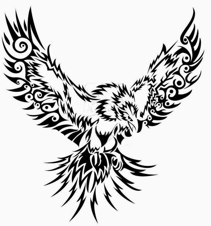 Eagles Flying Drawing