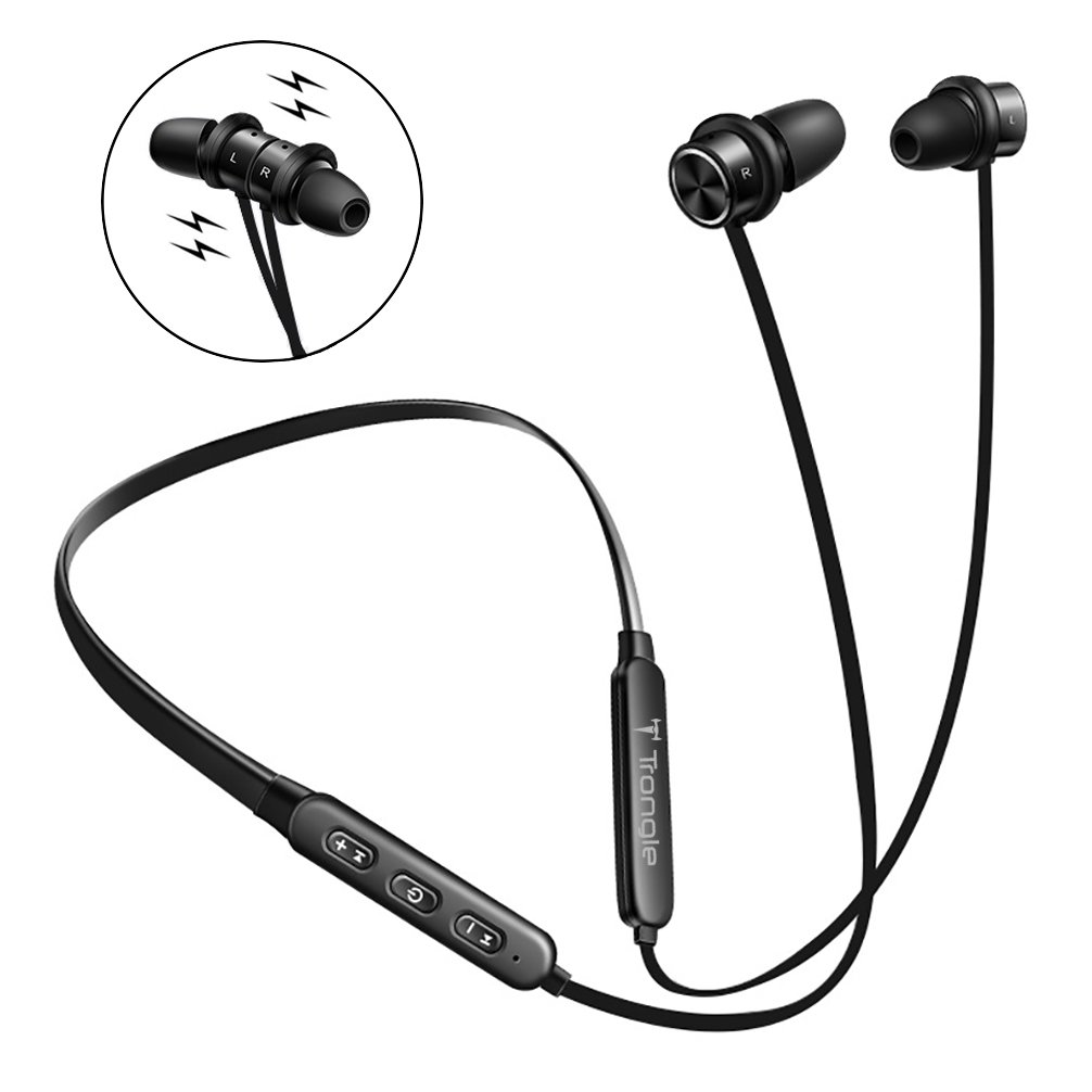 1006x1006 Bluetooth Headphones Neckband, Trongle Magnetic Wireless Sport