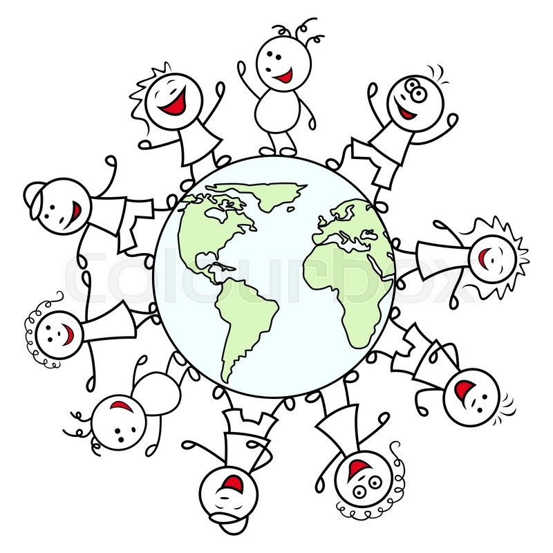 800x800 Happy Unite People Together Around The Globe Celebrate The Earth