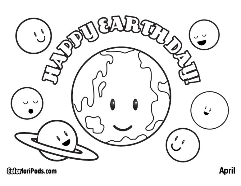 776x600 Epic Earth Day Coloring Pages 23 In Download With