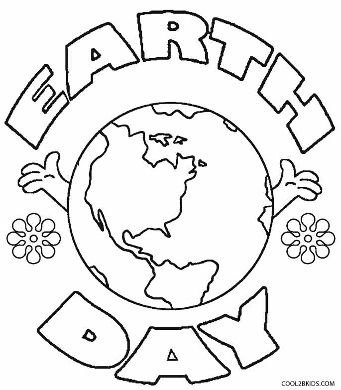 685x783 Printable Earth Coloring Pages For Kids Cool2bkids
