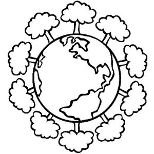 300x300 Save Our Forest On Earth Day Coloring Sheet Batch Coloring